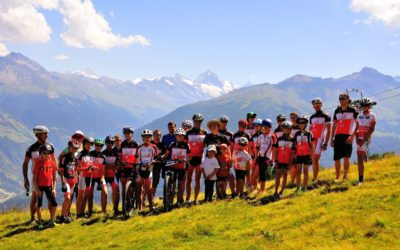 Camp VTT du Team Hérens 2016